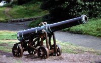 Cannon on Calton Hill